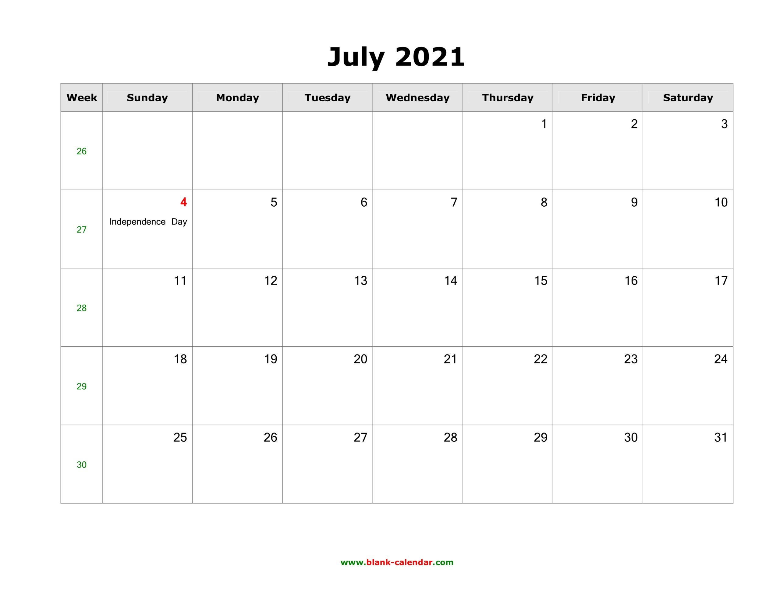 PDF Word Excel::June 2021 Calendar With Holiday