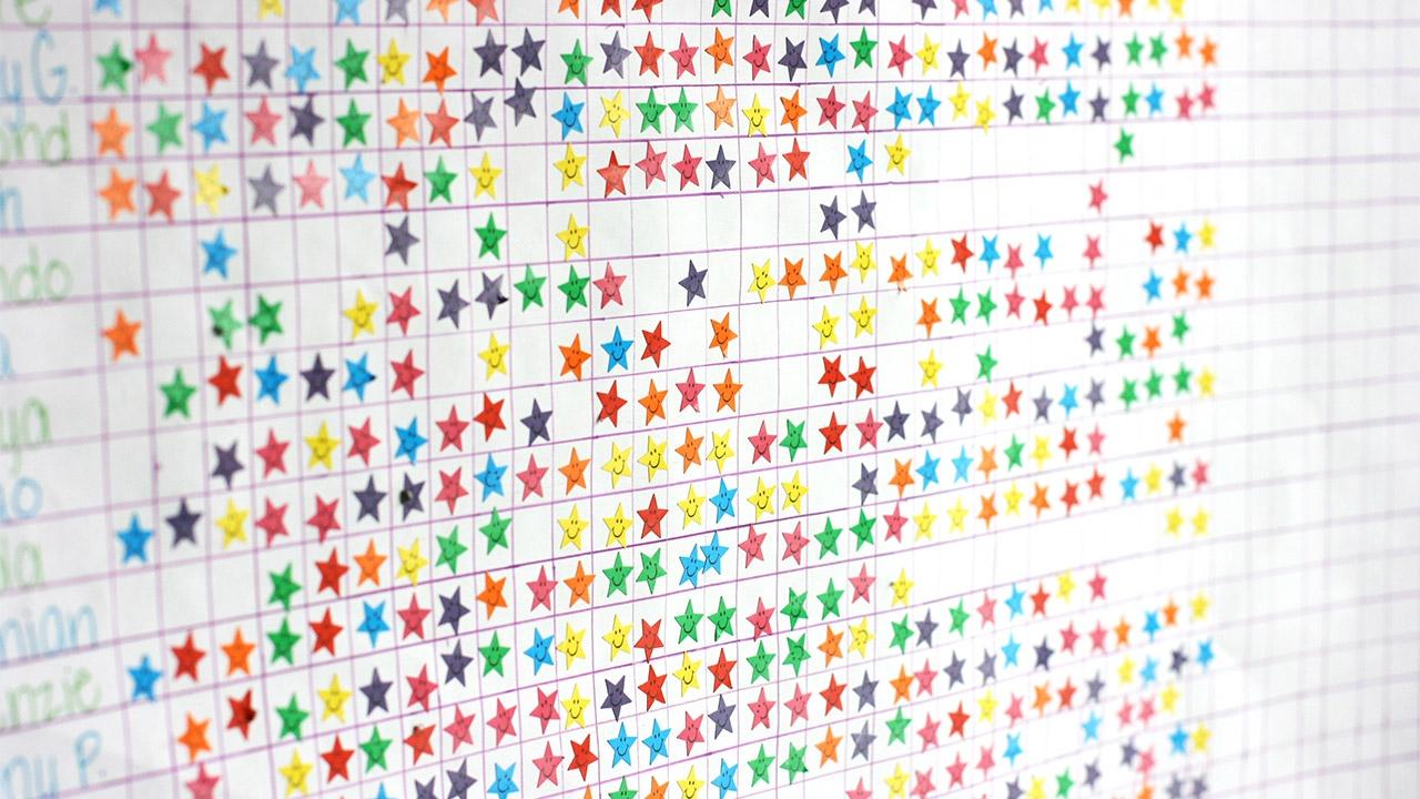 reward charts for child behaviour tips raising children network::Reward Chart with Sticker