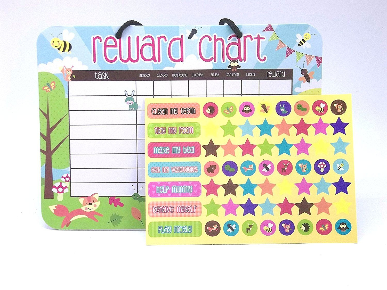 Reward Chart with Sticker