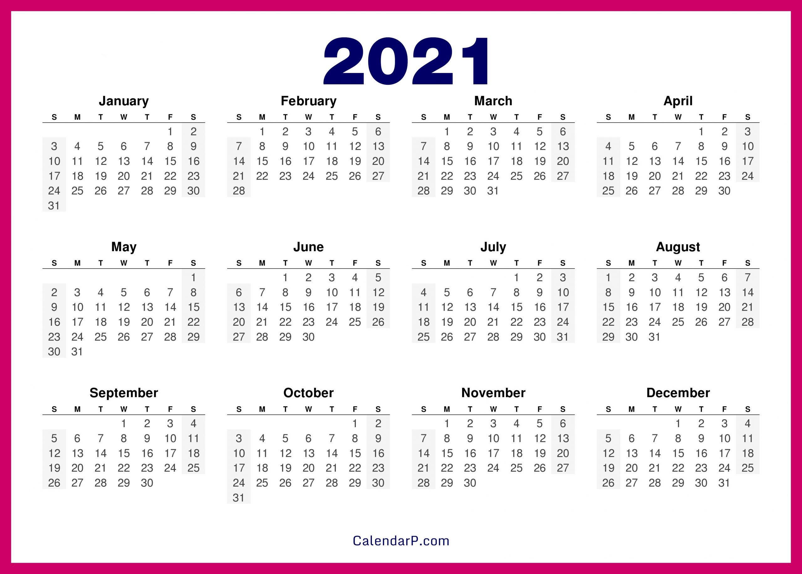 2021 calendar printable free hd pink calendarp printable free calendars::Download 2021 Printable Calendar