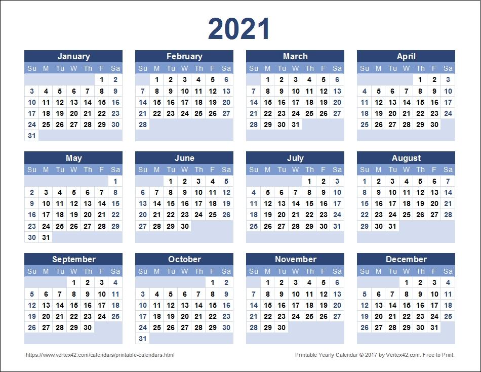 calendar 2021 printable week calendar::Printable 2021 Calendar By Week