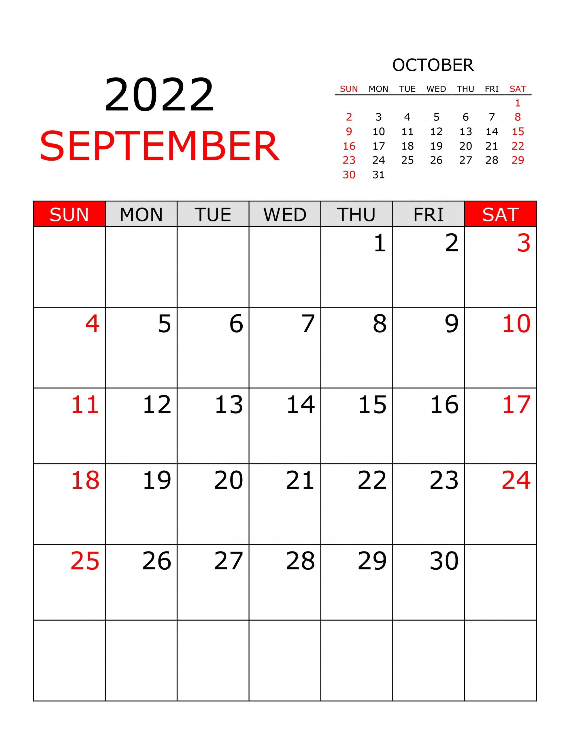 calendar for september 2022 free calendarsu::September 2022 Cute Calendar Free