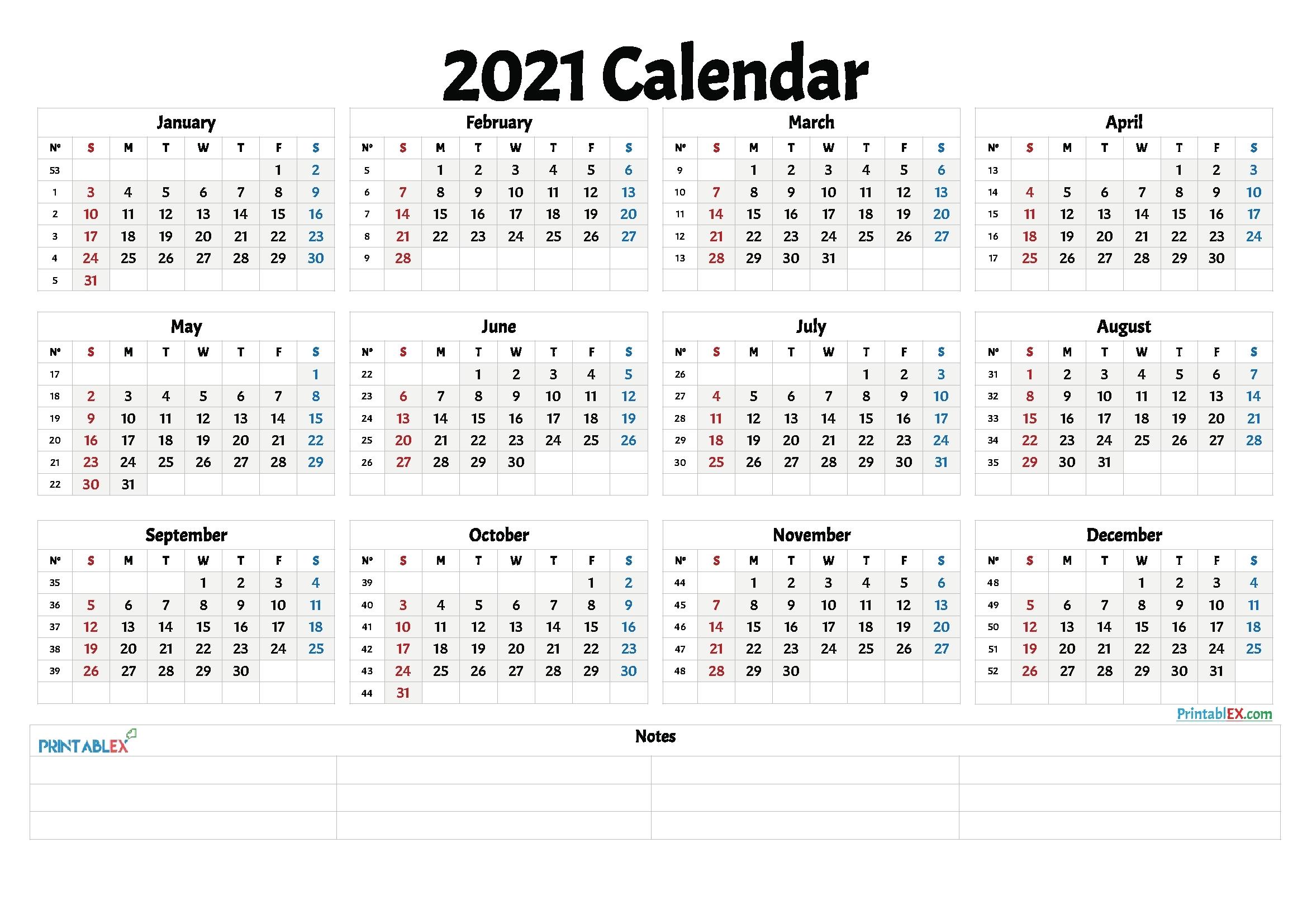 create your printable calendar 2021 no download get your calendar printable::Download 2021 Printable Calendar