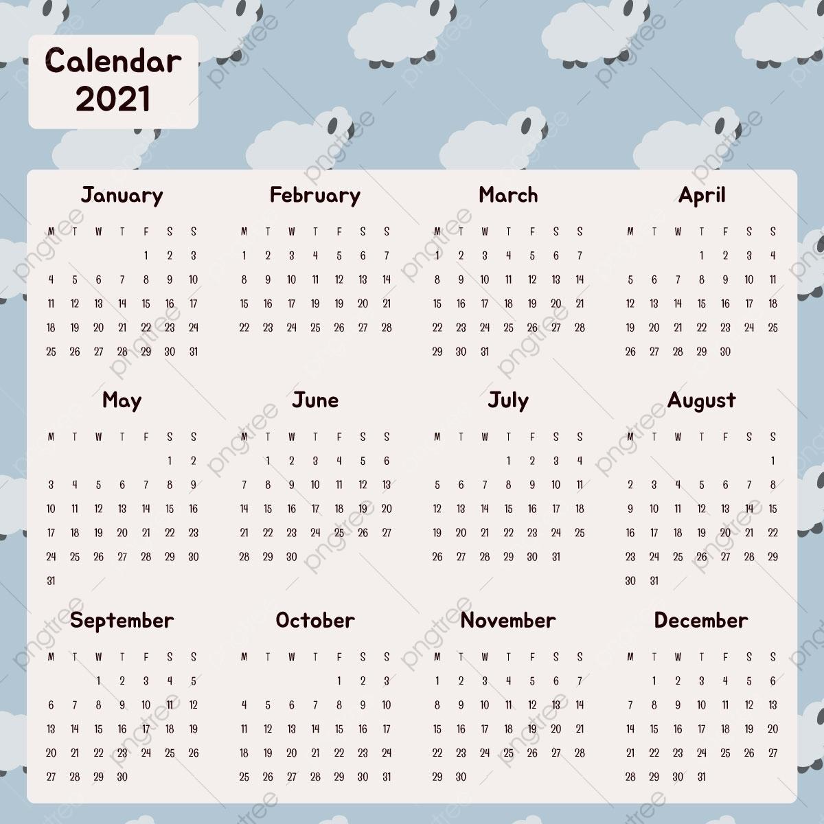 Download 2021 Printable Calendar