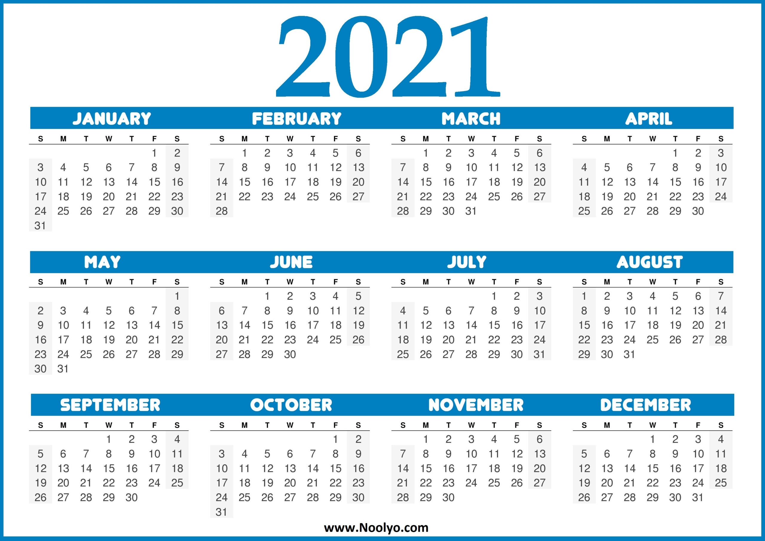 printable calendar 2021 united states free 2021 printable calendars::Printable 2021 Calendar By Week