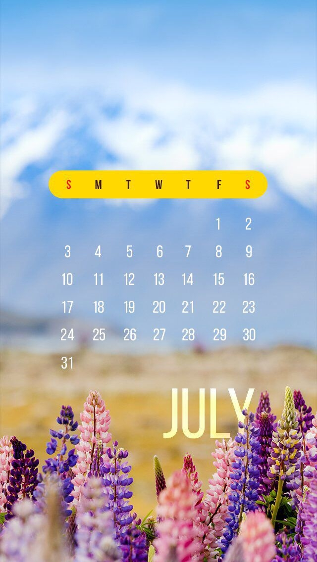 wallpaper iphone calendar july 2016 with images nature iphone wallpaper nature wallpaper::July 2022 Calendar Wallpaper iPhone