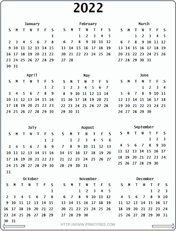 2022 calendar calendar printable week::Calendar 2022