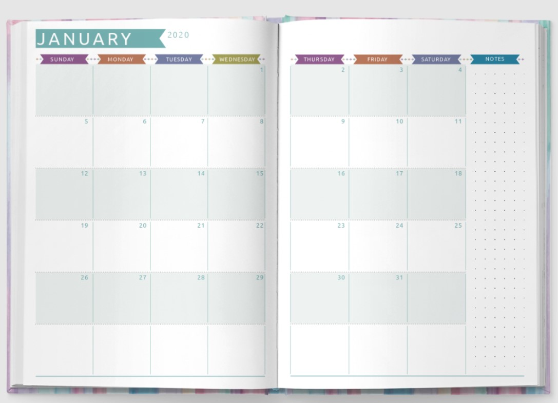 Rich Life Planner 2022 Simple Example