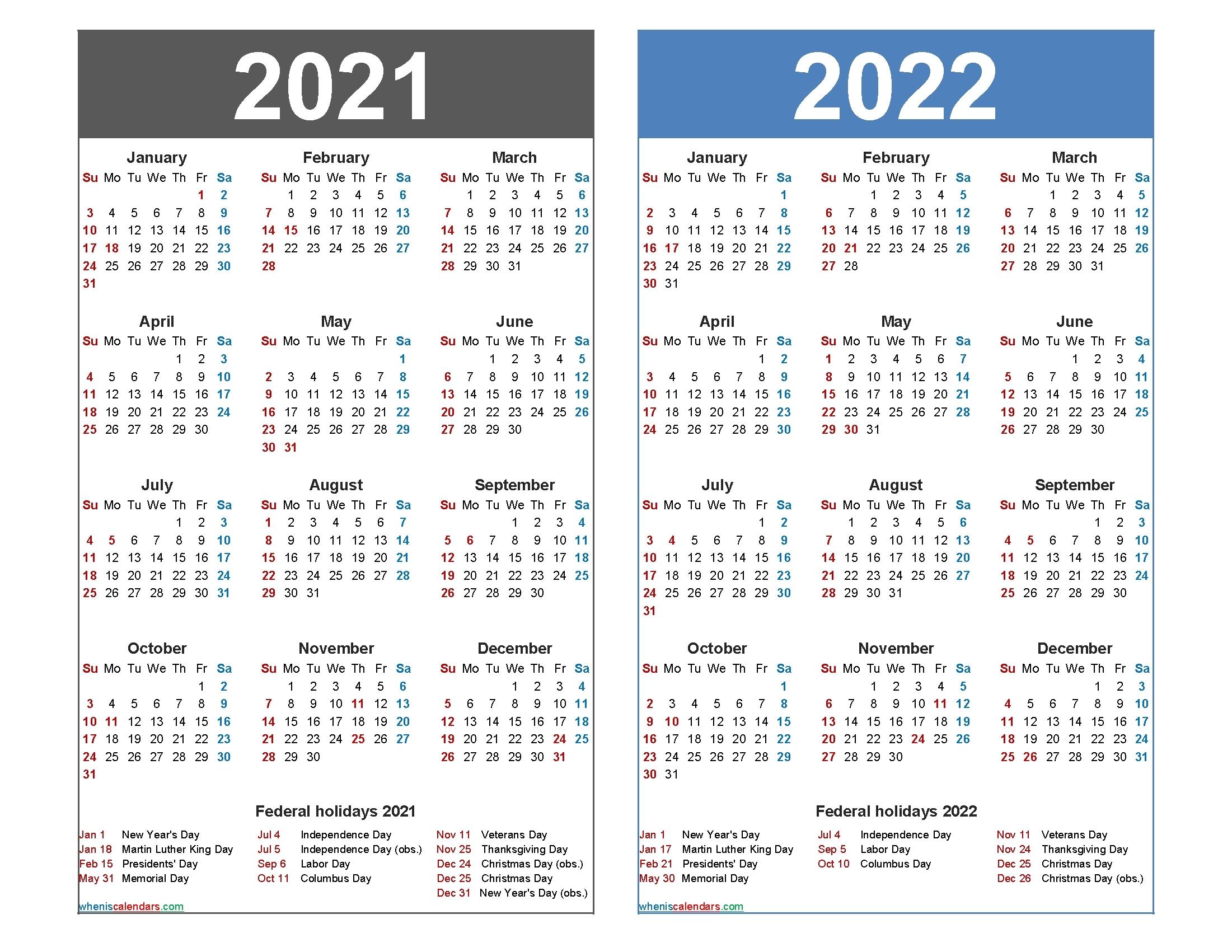 federal holidays 2021 calendar example calendar printable::Downloadable 2021 Calendar with Holidays